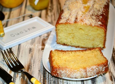 Plumcake yogurt e cocco senza burro – ricetta light