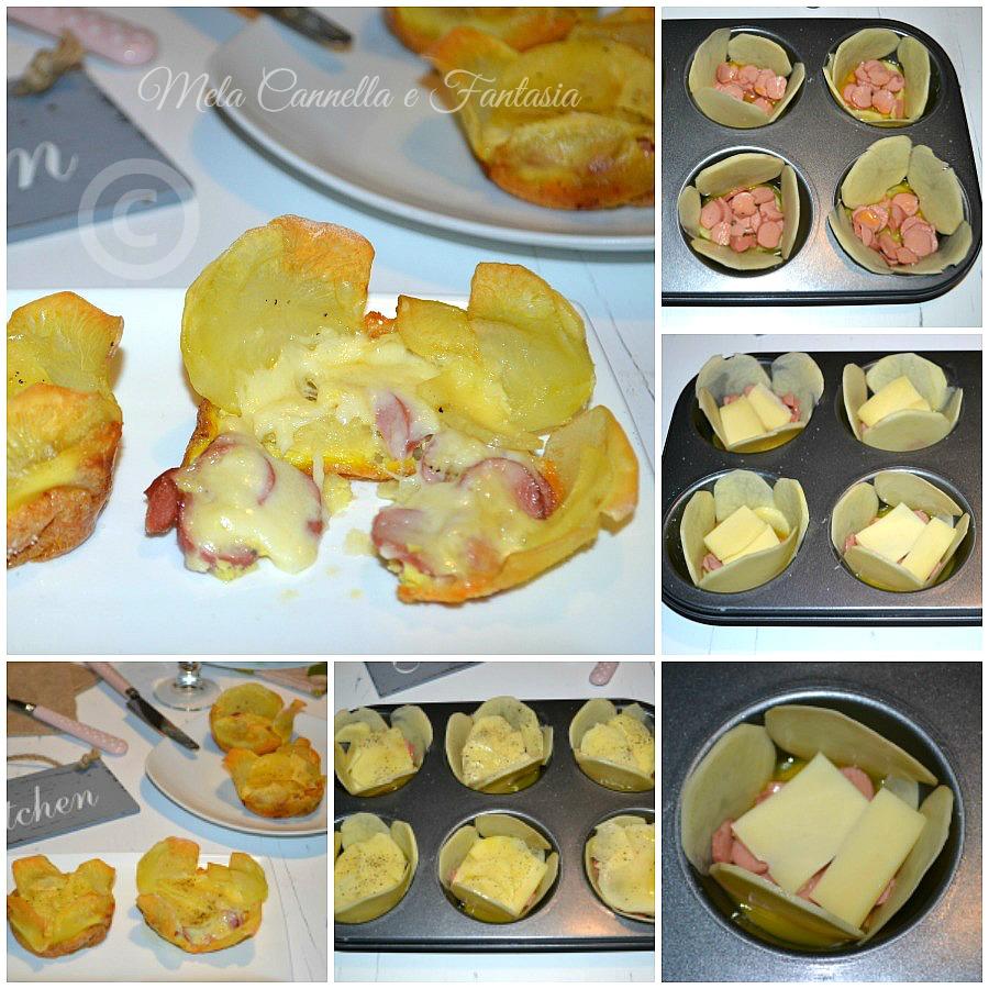 rose di patate tutorial