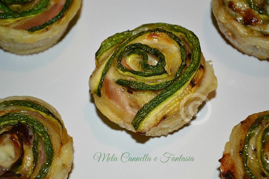rose di zucchine