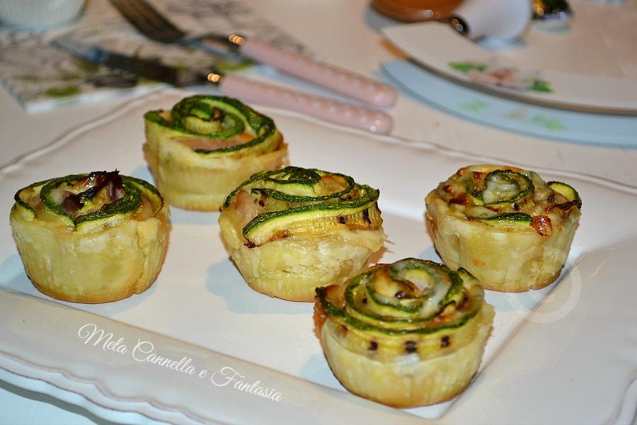 rose salate di zucchine