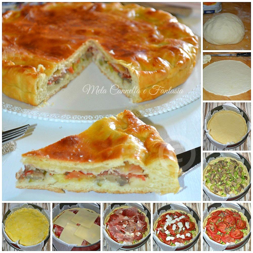 tutorial pizza rustica