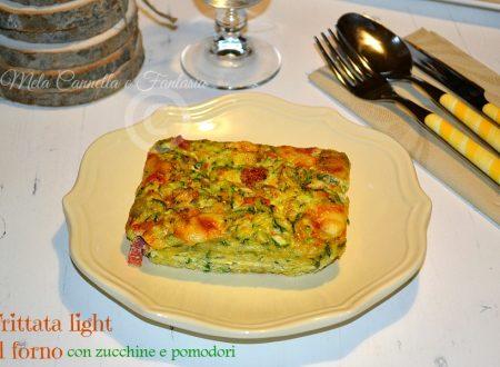 Frittata light al forno con zucchine e pomodori – ricetta veloce