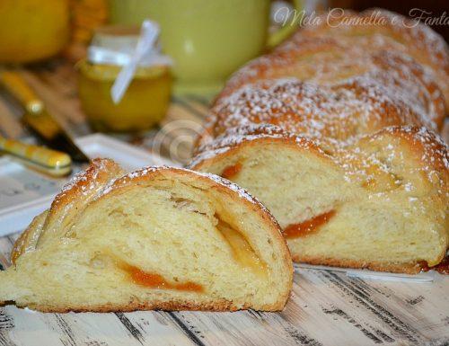 Treccia morbida con marmellata – ricetta senza burro