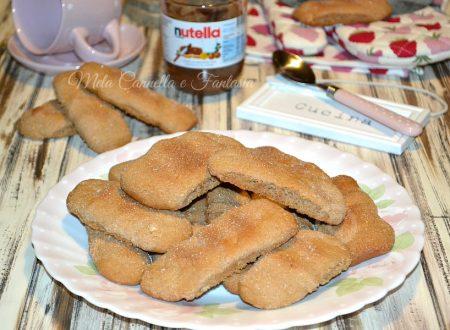 Biscottoni Nutella e nocciole – ricetta facile senza burro