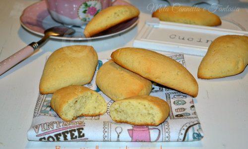 Biscotti alla vaniglia senza burro, perfetti per essere inzuppati