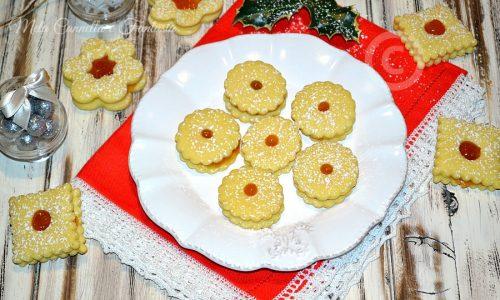 Biscotti marmellata di albicocche – ricetta senza burro