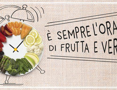 Progetto Fruit 24, è sempre l'ora di frutta e verdura