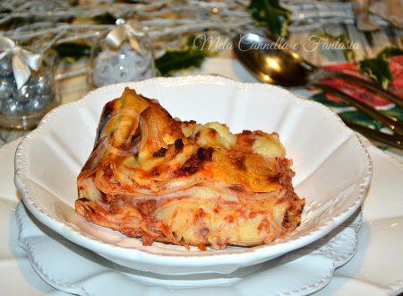 Lasagne abruzzesi con ragù di carne – ricetta di famiglia