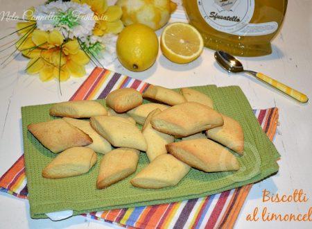 Biscotti al limoncello senza burro - ricetta facile e veloce