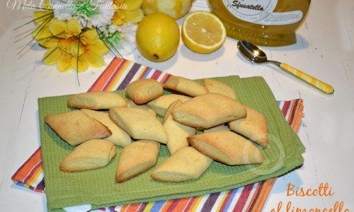 Biscotti al limoncello senza burro – ricetta facile e veloce