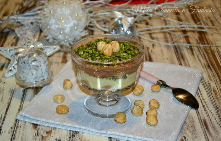 Coppa golosa crema e pistacchi – dolce al cucchiaio