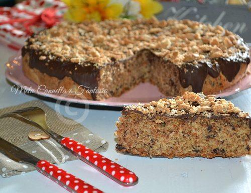 Torta amaretti e cioccolato fondente – ricetta facile e golosissima