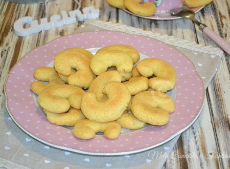 Mezzelune alle mandorle e vaniglia – con frolla senza burro