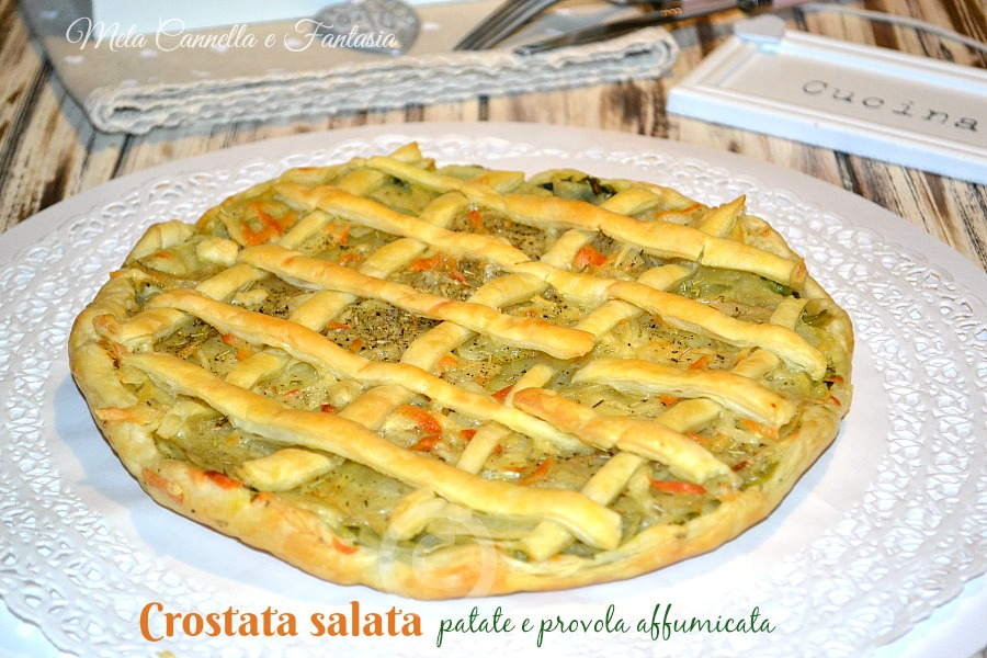 crostata patate