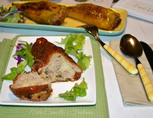 Peperoni ripieni di tonno e pane – ricetta facile e veloce