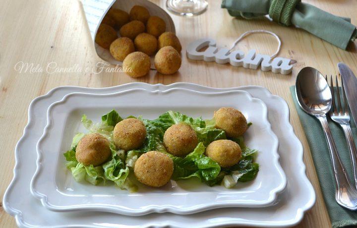 Polpettine di ricotta e tonno allo zafferano – ricetta light