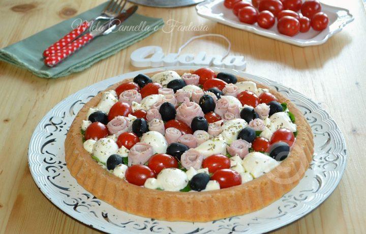 Crostata primaverile con base morbida – ricetta facile