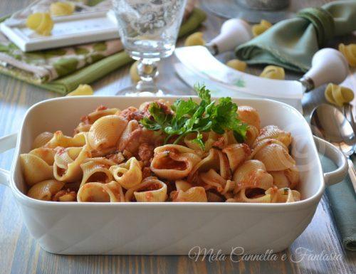 Pasta al tonno e zafferano – ricetta light facile e veloce