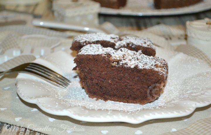 Torta cacao e pinoli solo albumi (senza burro né latte)