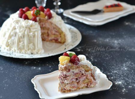 Zuccotto di frutta – dolce senza cottura facile e veloce