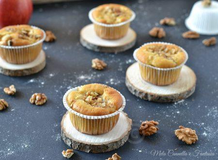 Muffins noci mela e cannella – soffici e senza burro