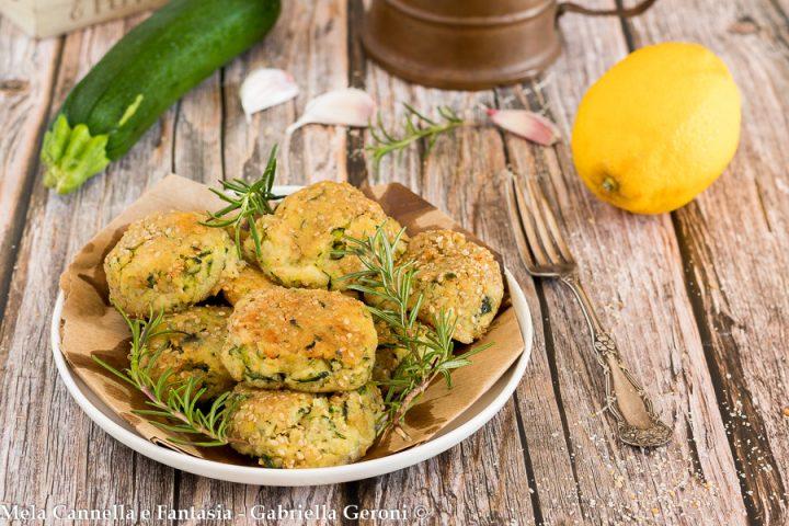 polpette vegetariane con zucchine