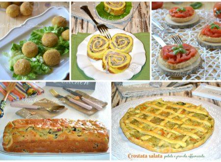 Ricette salate facili e sfiziose per pic-nic buffet e aperitivi