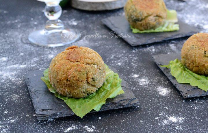 Polpettine di ceci al forno – ricetta light vegetariana