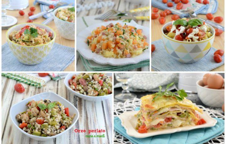 Primi piatti estivi – raccolta di ricette light e gustose