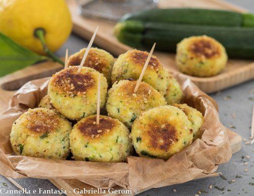 Bocconcini con ricotta al limone e zucchine – fritti o al forno