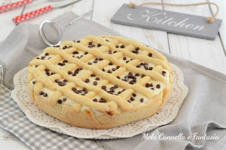crostata mascarpone