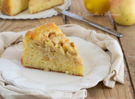 Torta di mele e limone morbida profumata e senza burro