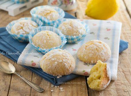 Biscotti limonosi senza burro – ricetta facile e veloce
