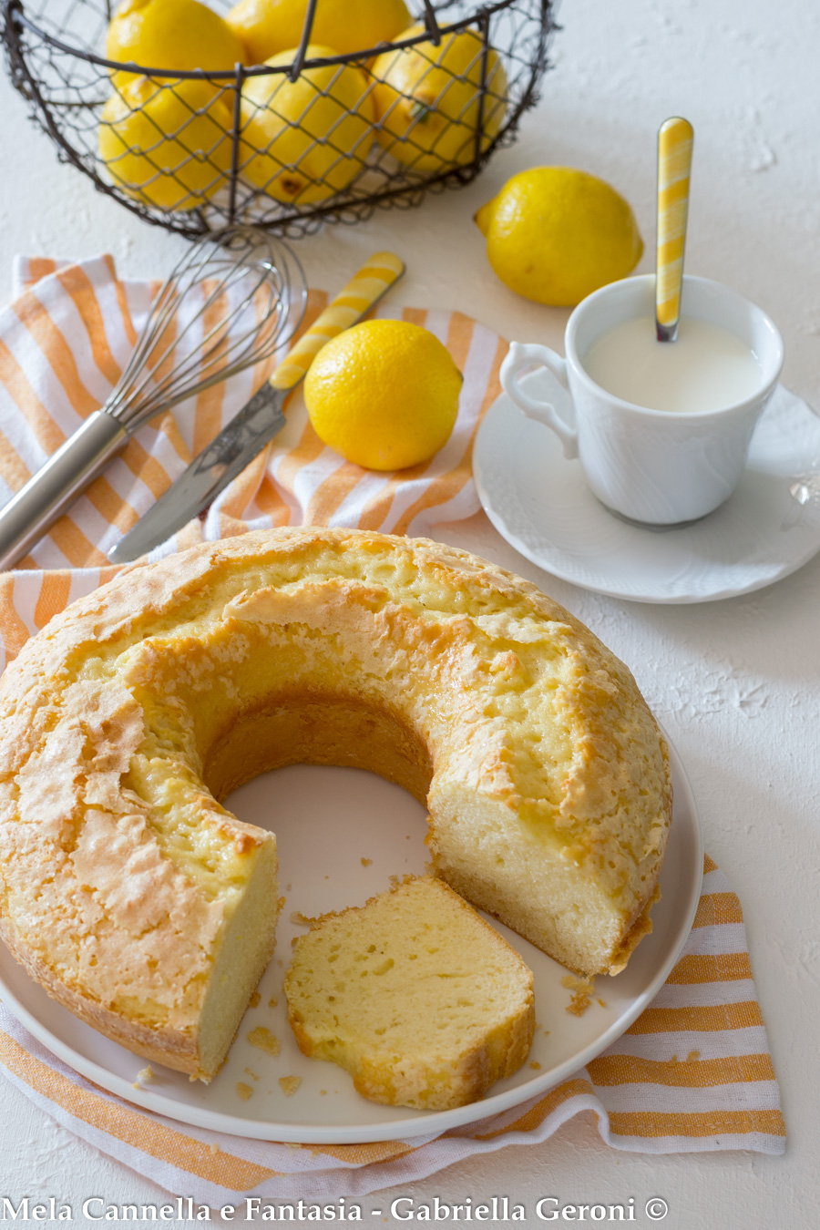 ciambella al limone