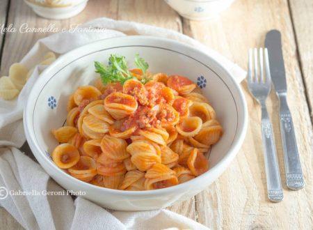Orecchiette con ragù di salsiccia – ricetta facile e veloce