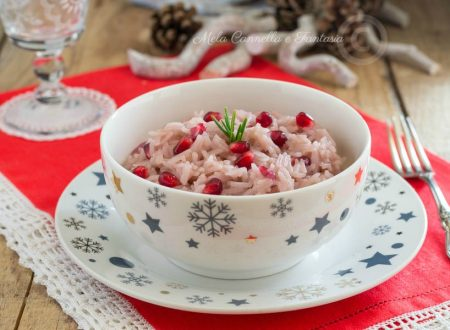 Risotto alla melagrana – ricetta light facile, veloce e gustosa