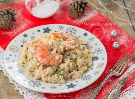 Risotto di mare – ricetta primo piatto facile e gustoso