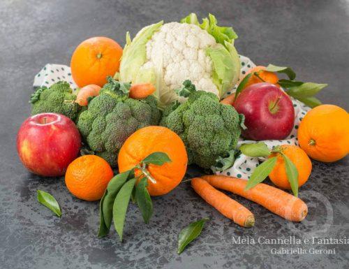 Frutta e verdura. Proprietà e benefici per la nostra salute