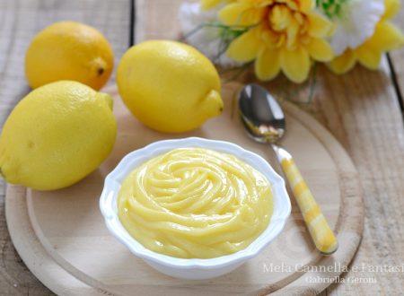 Lemon Curd (Crema al limone) per farcire dolci e torte