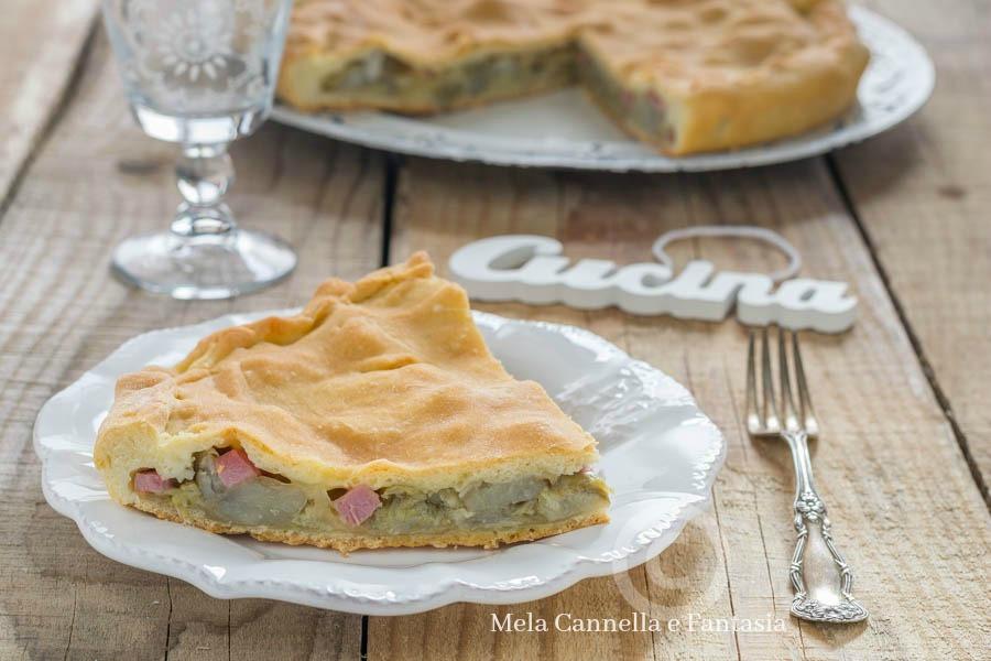 torta rustica carciofi