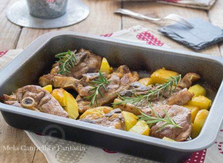 Agnello al forno con patate – ricetta tradizionale di Pasqua