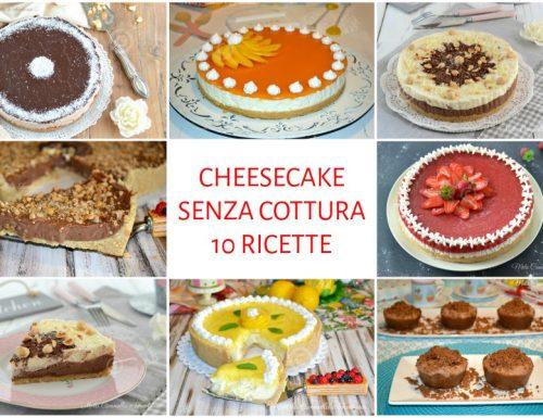 Cheesecake ricette senza cottura facili e golosissime
