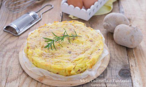 Pasticcio di patate con speck e mozzarella… che bontà!