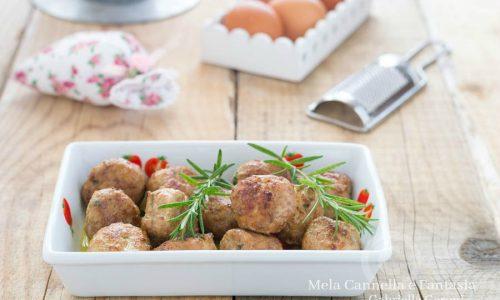 Polpette al rosmarino – ricetta facile veloce e gustosa