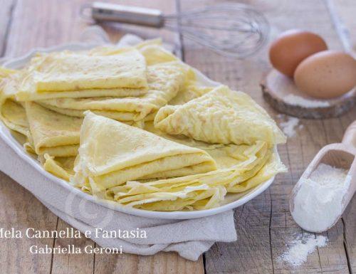 Scrippelle abruzzesi ricetta tradizionale di famiglia