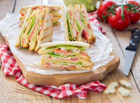 Club Sandwich con pollo - ricetta rivisitata a modo mio!