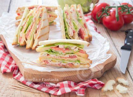 Club Sandwich con pollo – ricetta rivisitata a modo mio!