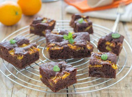 Torta al cacao e arancia morbida profumata e senza burro