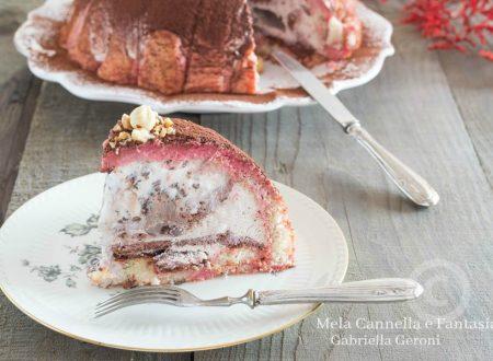 Zuccotto gelato alla stracciatella – facile veloce e senza cottura
