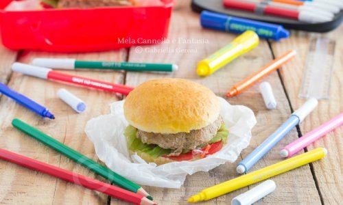 Sandwich con polpetta alle verdure (schiscetta perfetta!)